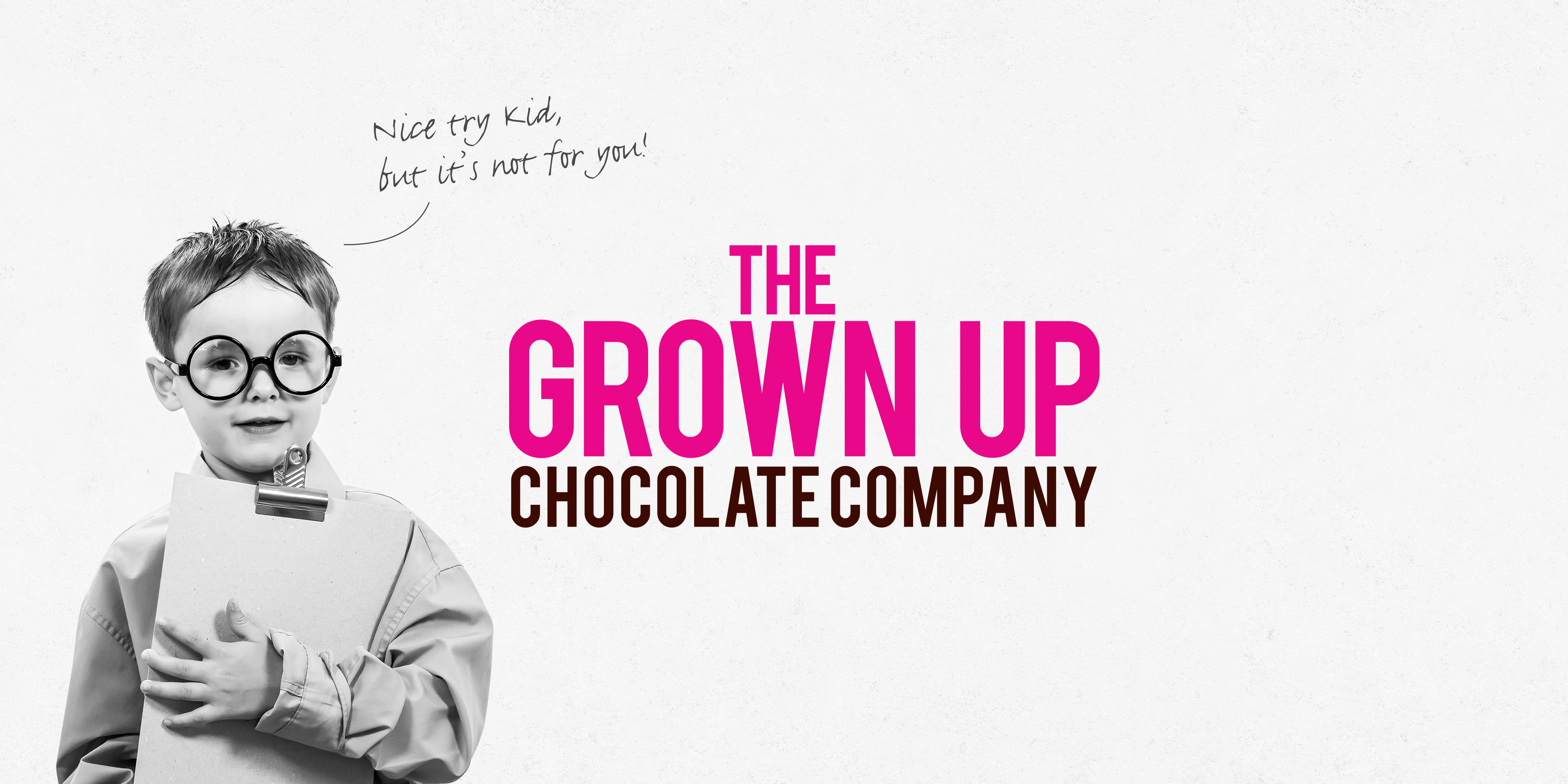 Grown Up Chocolate Company Branding by Toast Food