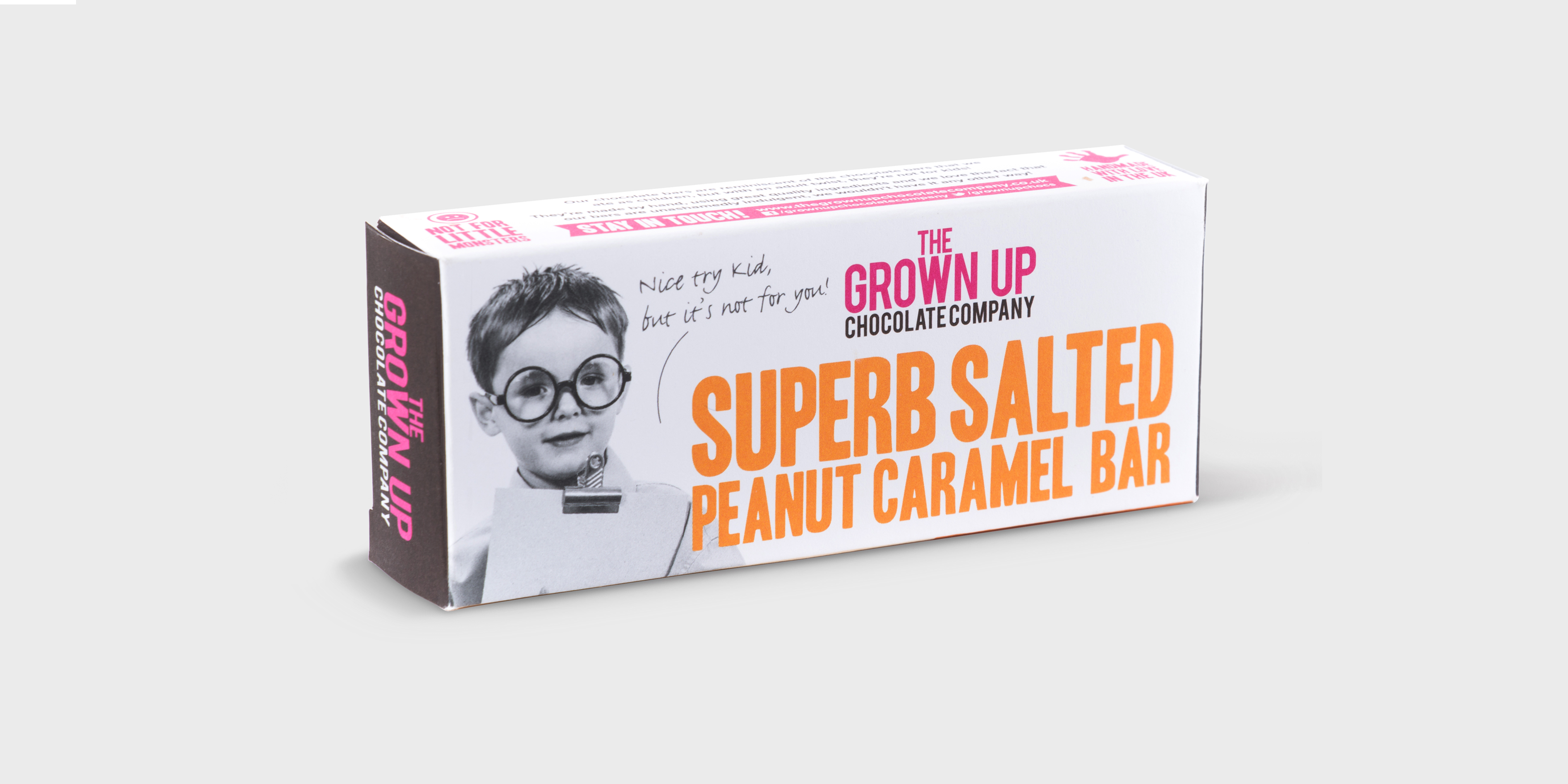 The Grown Up Chocolate Bar Branding and Packaging by Toast Food