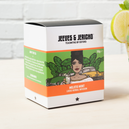 Jeeves and Jericho Tea Branding and Packaging Design