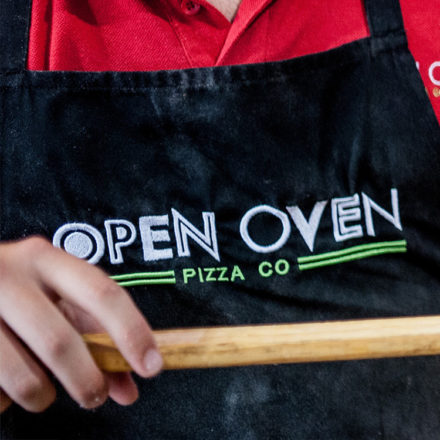 Open Oven Pizza Company Branding by Toast Food