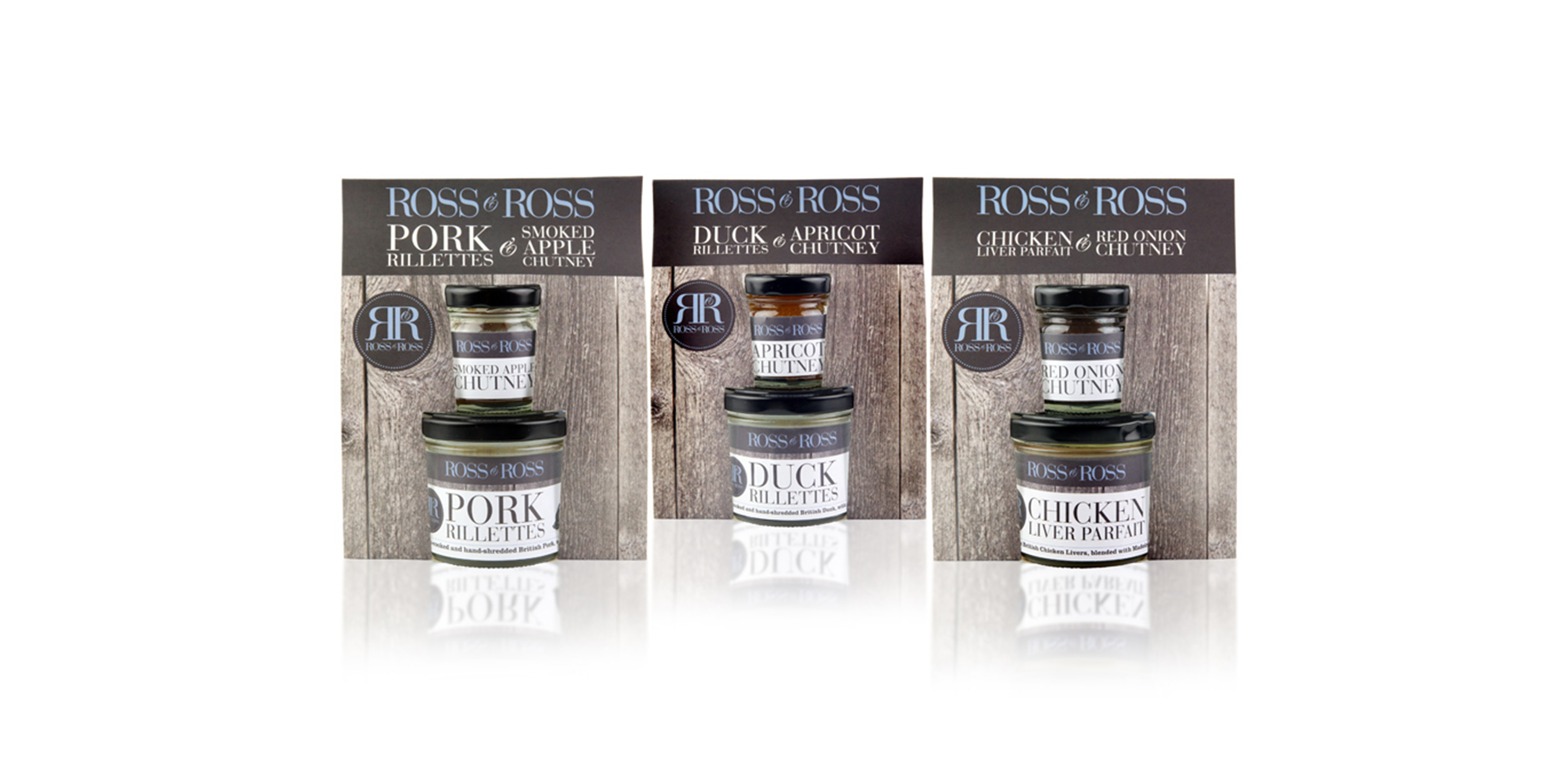 Ross and Ross Food Packaging Design by Toast Food