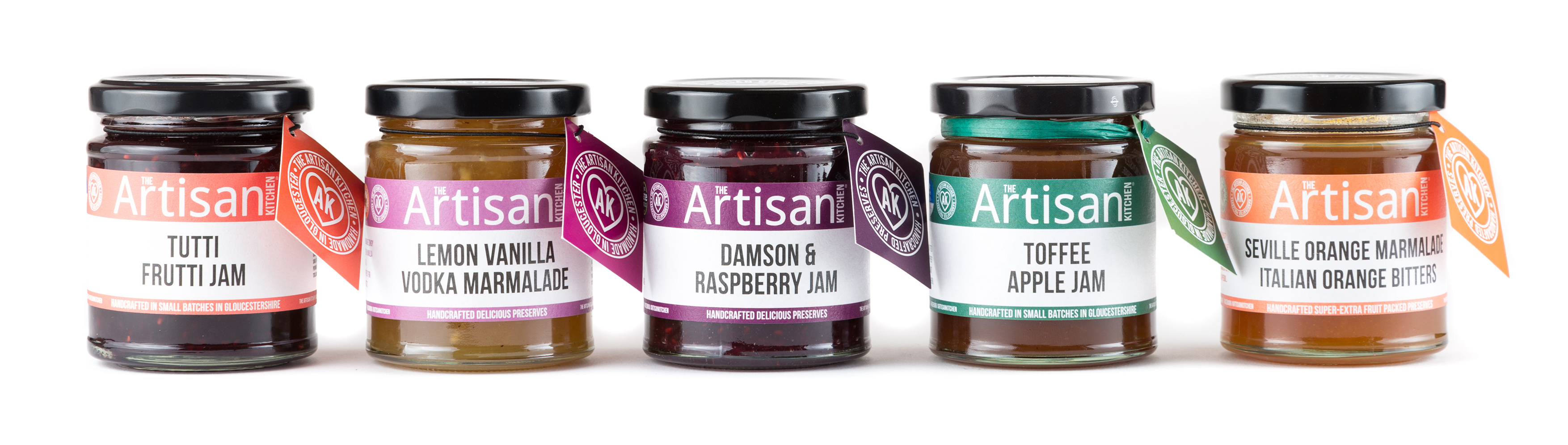 The Artisan Kitchen Packaging Design by Toast Food
