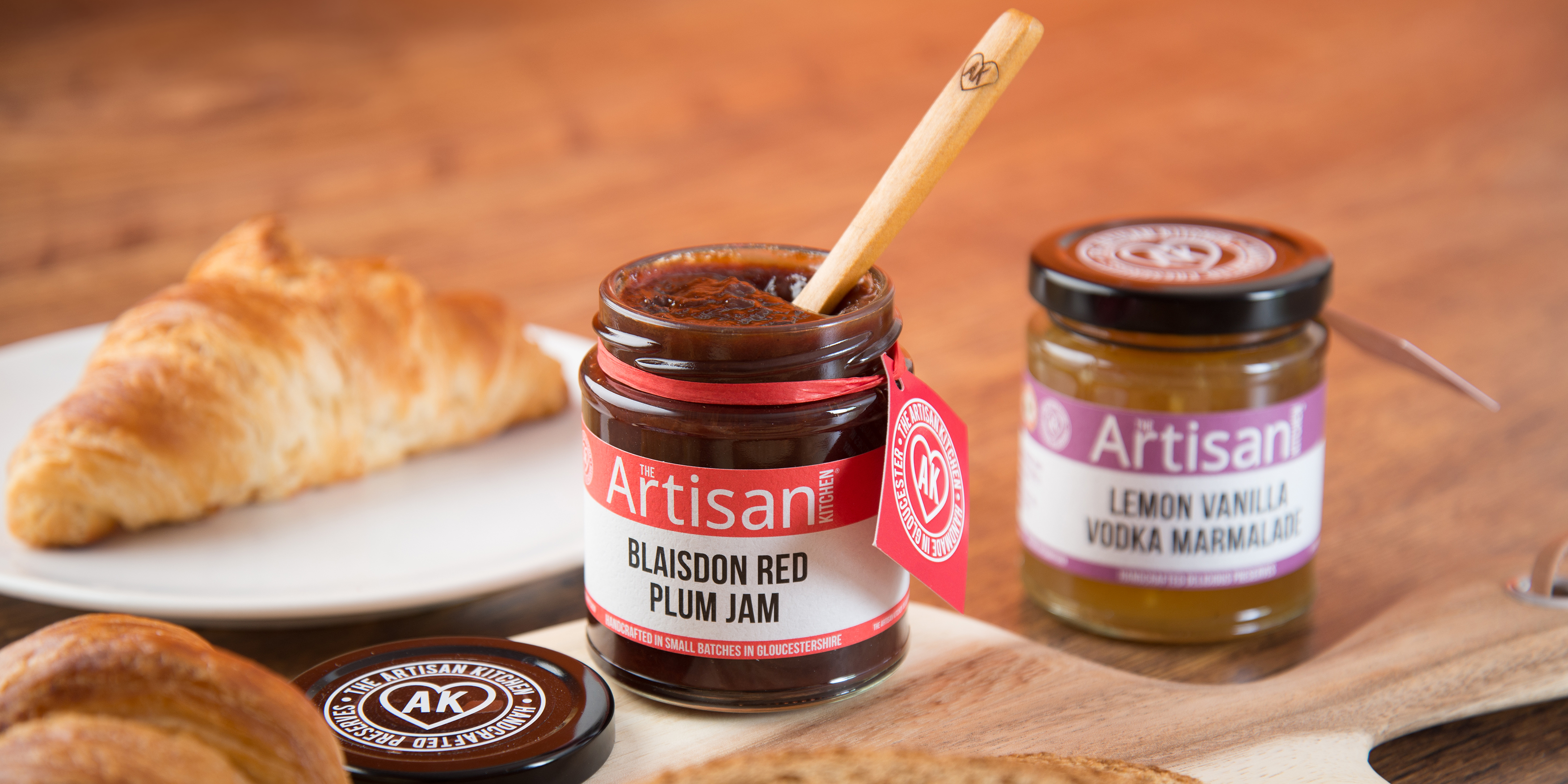The Artisan Kitchen Jam Branding and Packaging by Toast Food