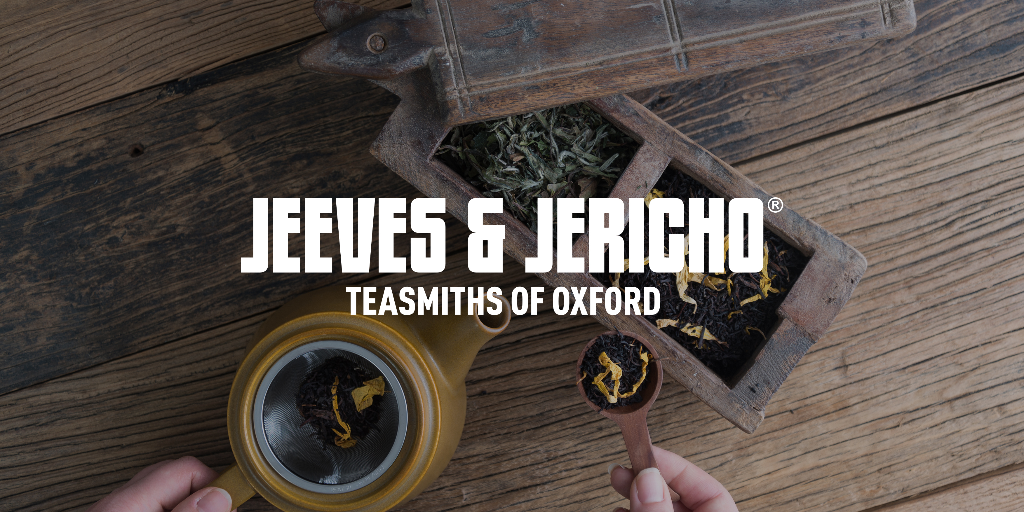 Jeeves & Jericho Tea Branding by Toast Food
