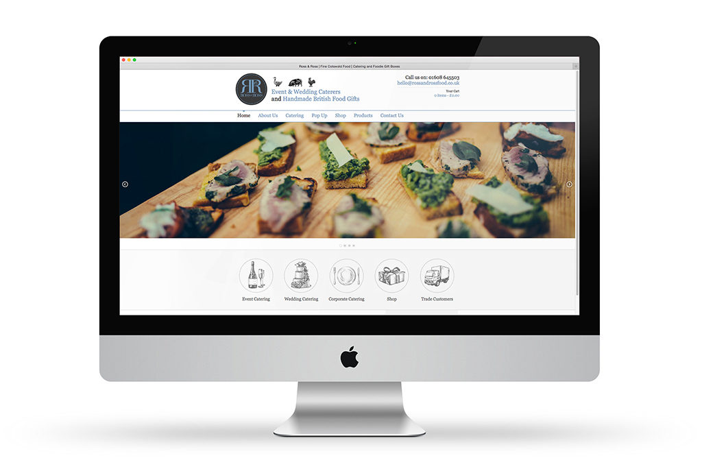 Website Design and Build by Toast Food