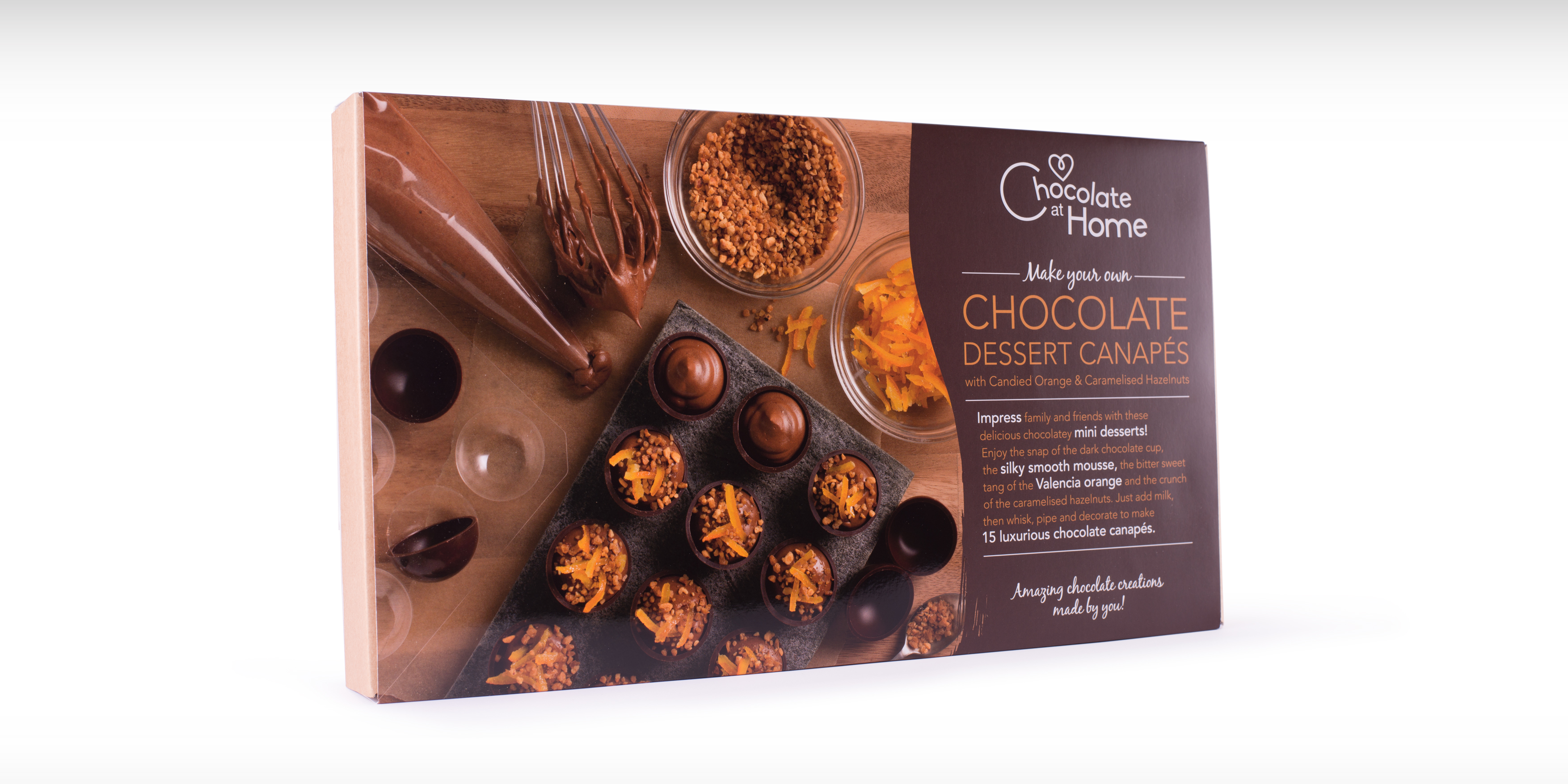 Chocolate at Home Branding and Packaging