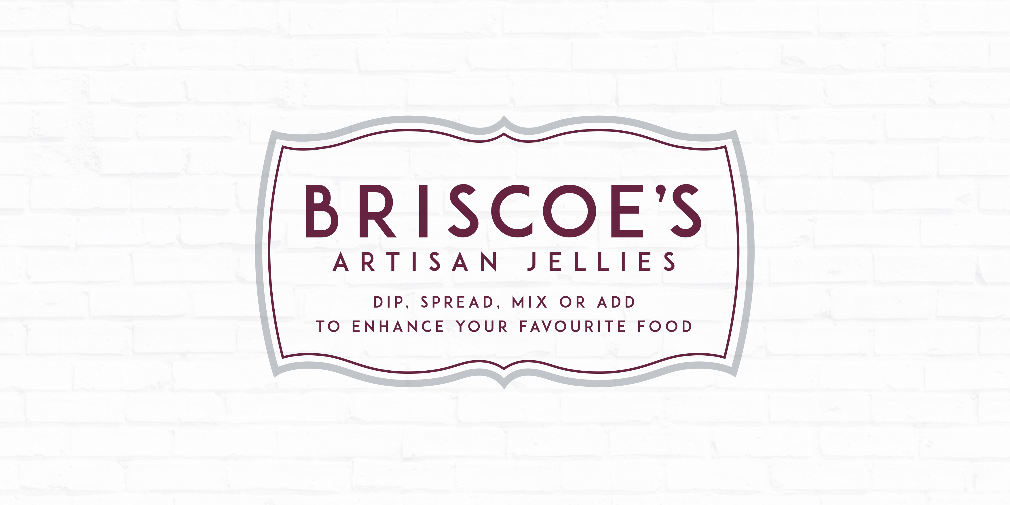 Briscoe's Jellyments Brand Identity by Toast Food