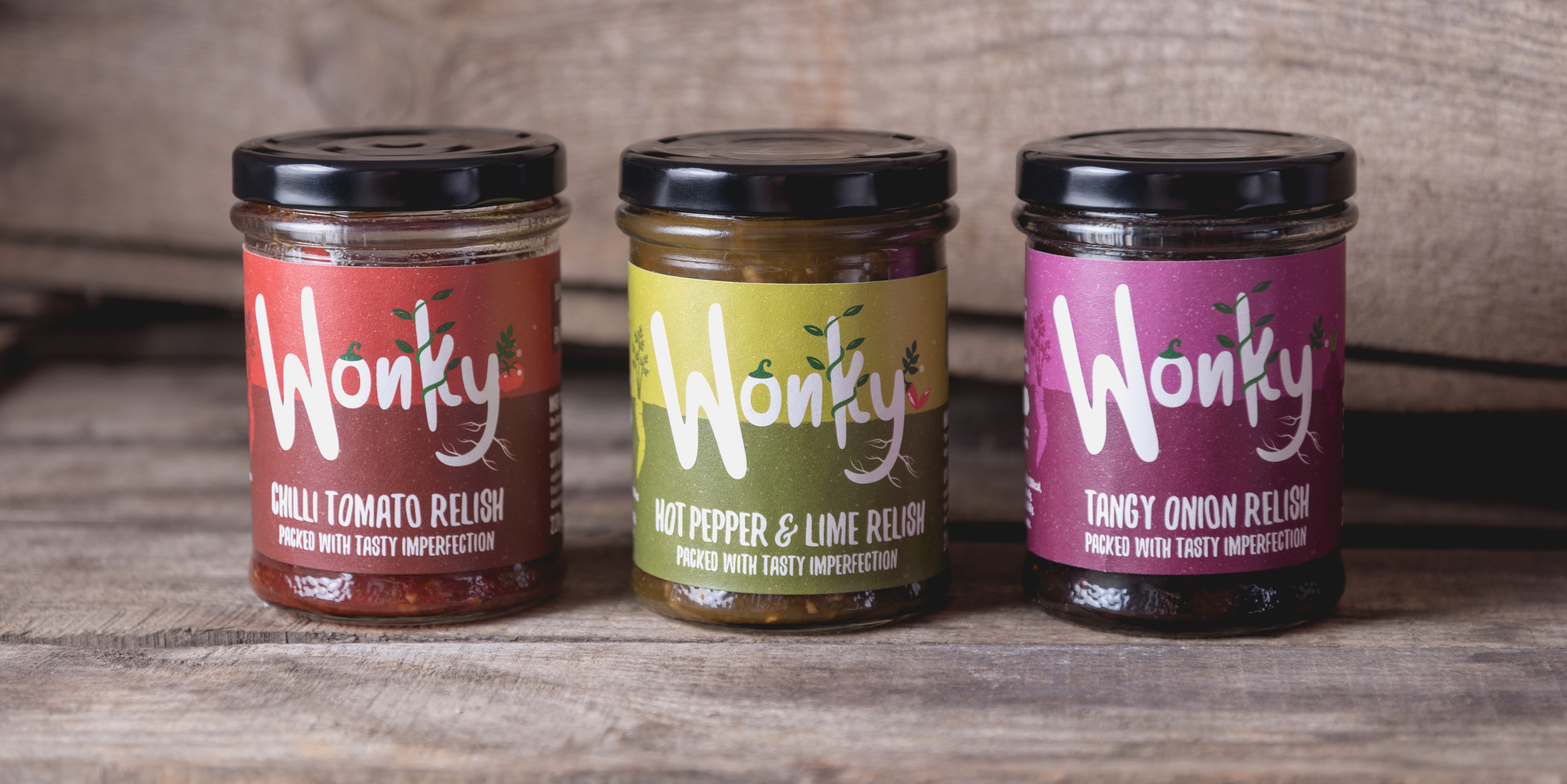 The Wonky Food Company Jars