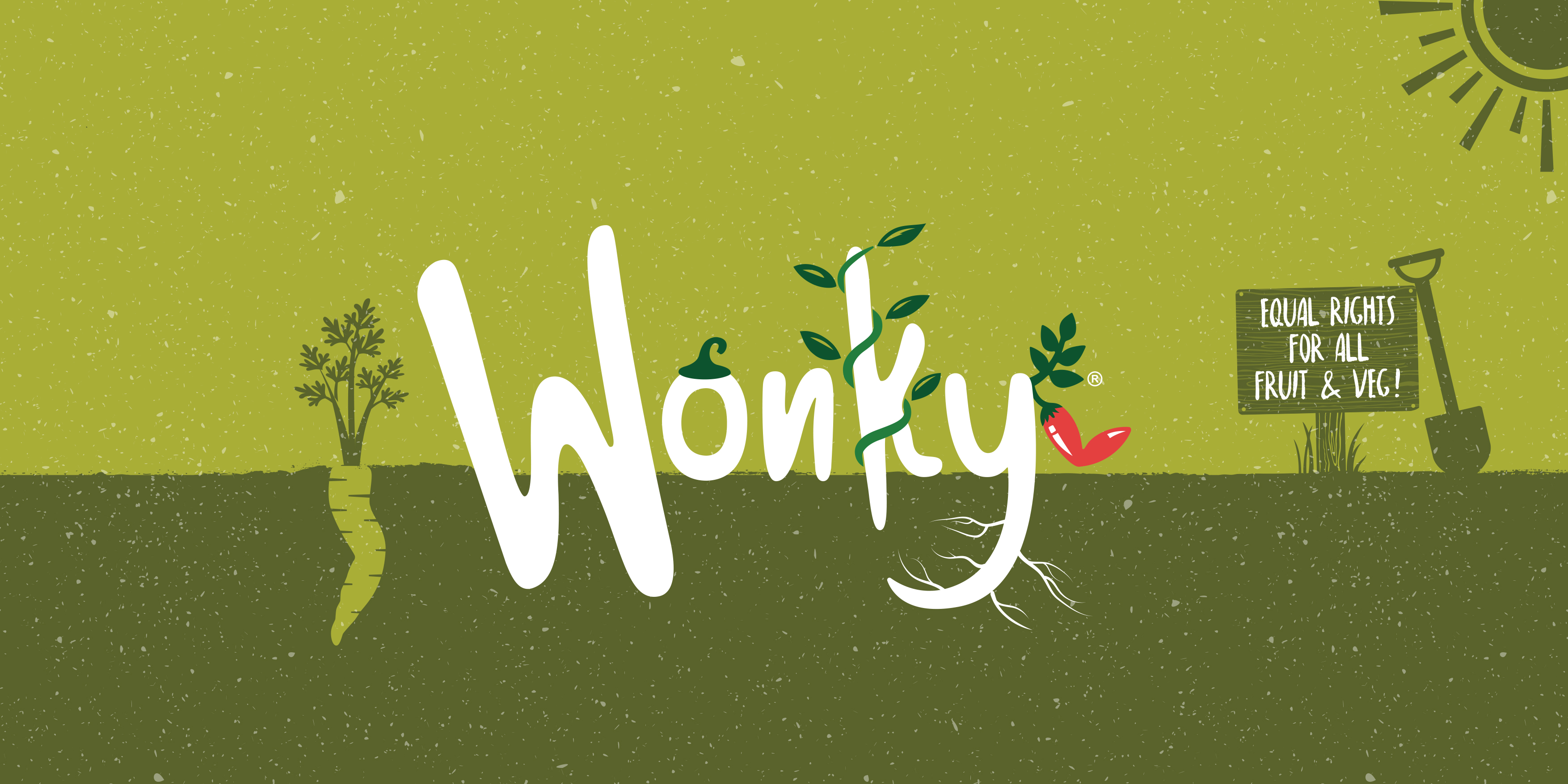 The Wonky Food Company branding by Toast Food