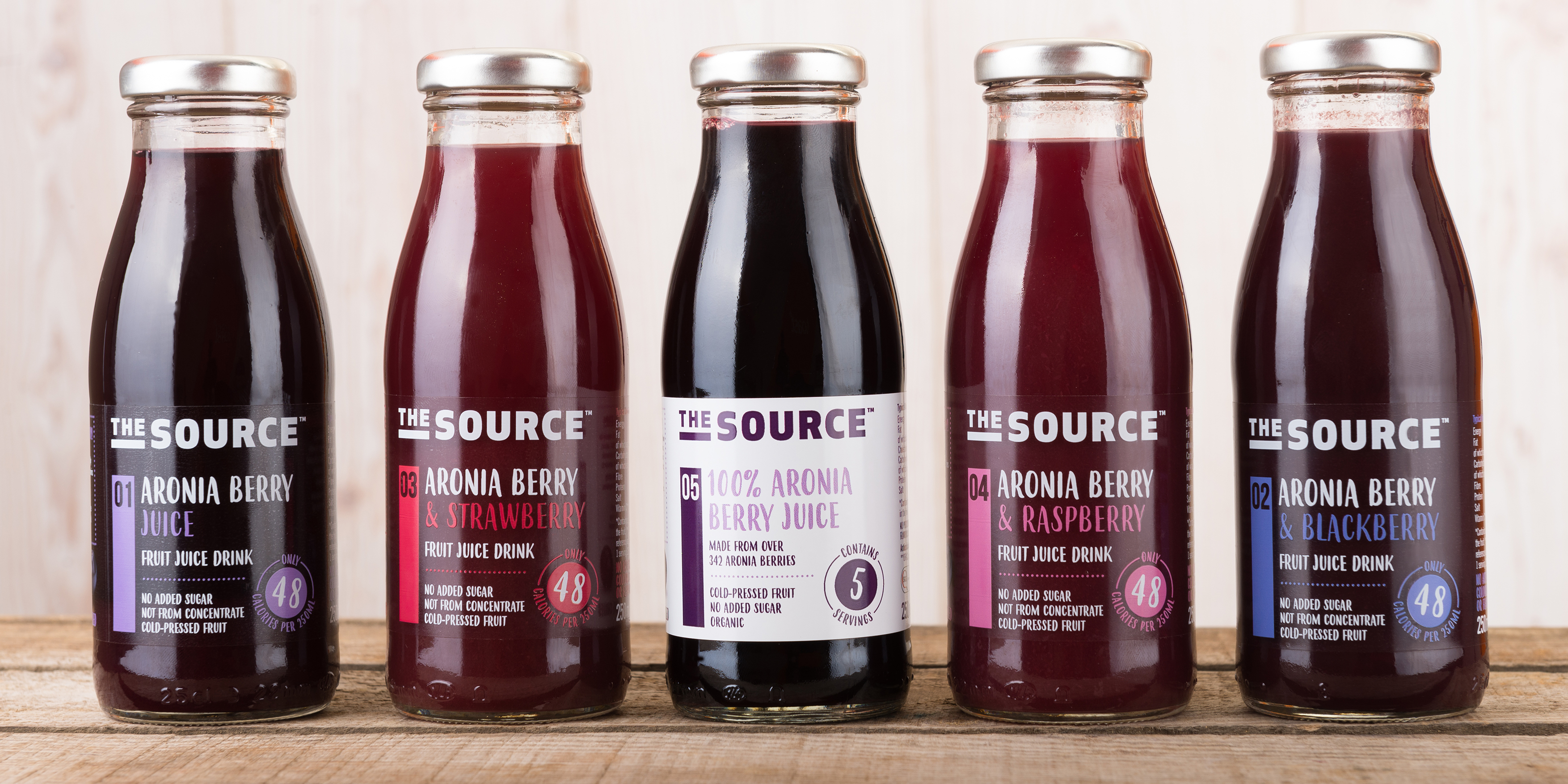 Aronia Berry Drink Branding & Packaging by Toast Food
