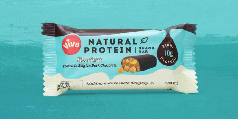 Vive Protein Bar Branding and Packaging by Toast Food