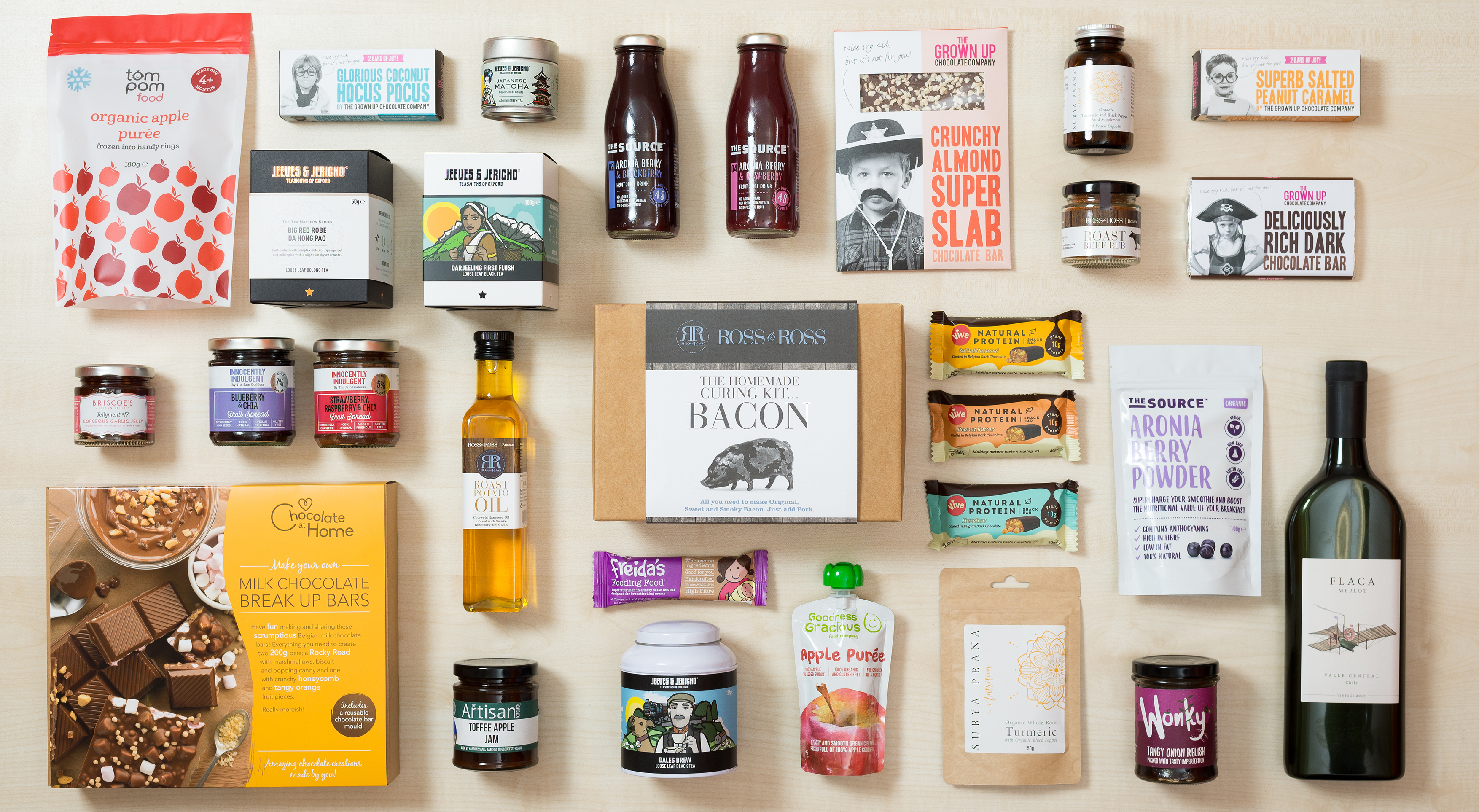 Food and Drink Design Agency Toast Food Branding and Packaging Design
