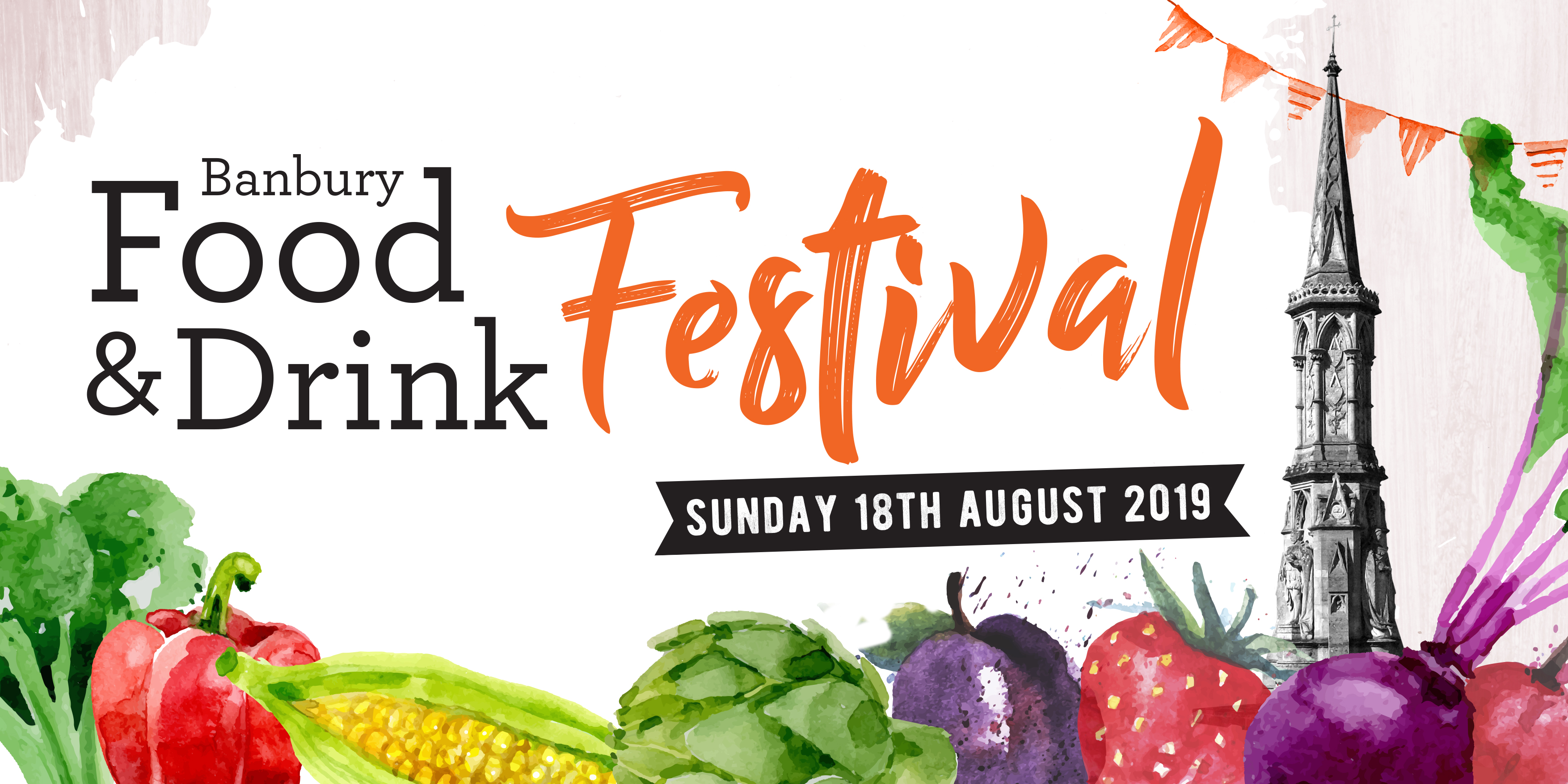 Banbury Food & Drink Festival Branding