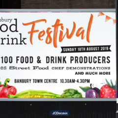 Banbury Food & Drink Festival Branding by Toast Food