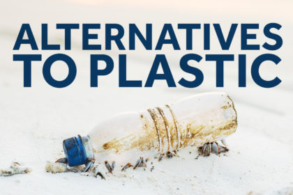Alternatives to plastic food & drink packaging