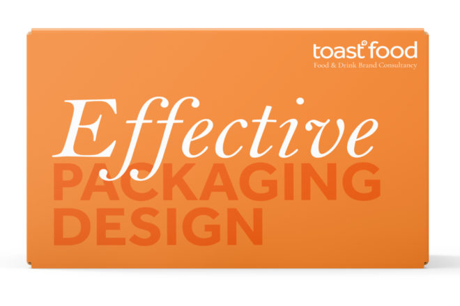 Effective Packaging Design by Toast Food