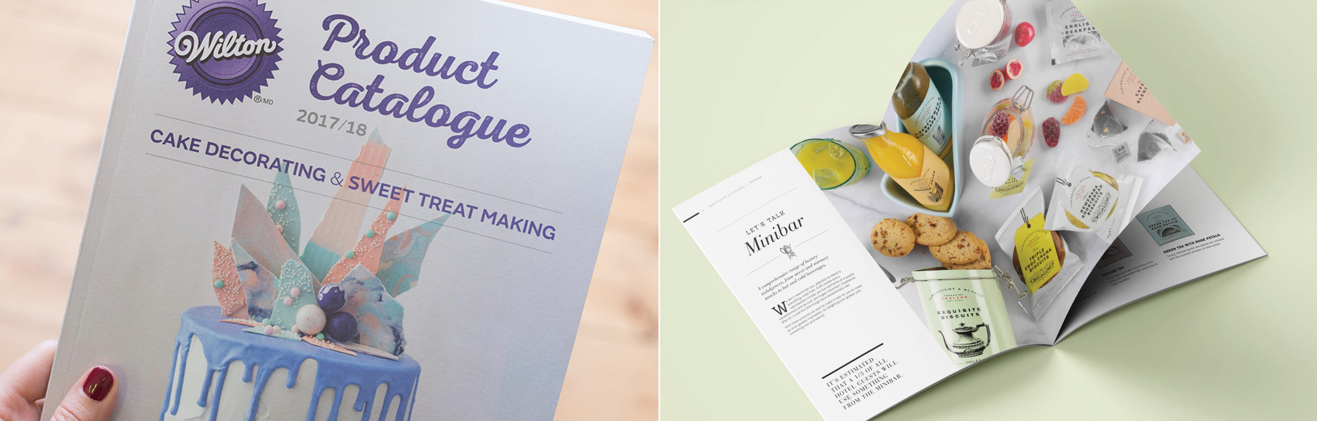 Print Design Services for Food & Drink businesses by Toast Food