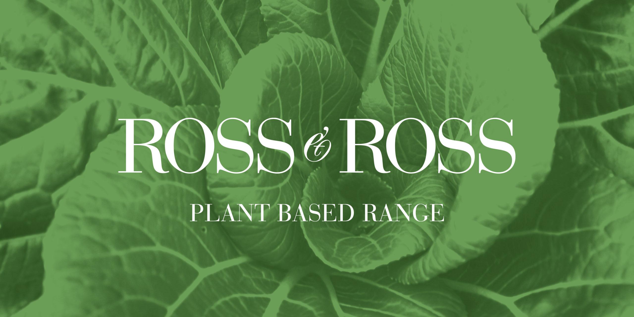 Ross & Ross Vegan Range Vegan Branding